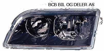 HOVEDLAMPE S/V40 1998 TURBO DOBBEL I SORT VENSTRE 5 PIN