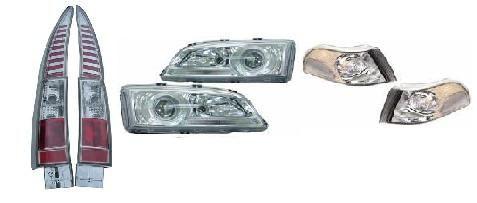 TILBUDSPAKKE V70-97-00 LAMPER FORAN OG BAK STYLING CC