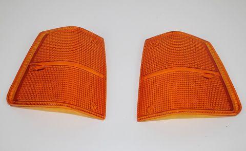 Blink/parkglass helorange 240/260 81-93 sett med begge sider NYHET