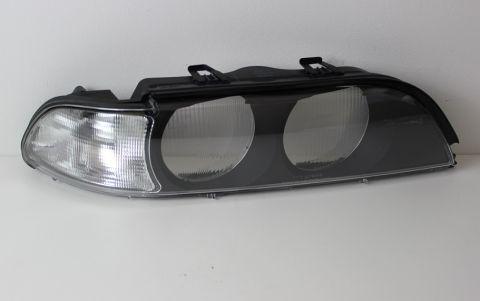 HOVEDLAMPEGLASS H/S BMW E39  96-04 MOD