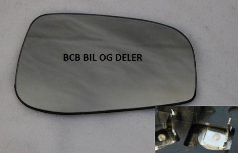 SPEILGLASS HØYRE MED VARME TIL VOLVO S60,S80,V70