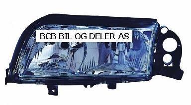 HOVEDLAMPE S80 VOLVO 1999>12.MND.2005 CROM VERSJON VENSTRE