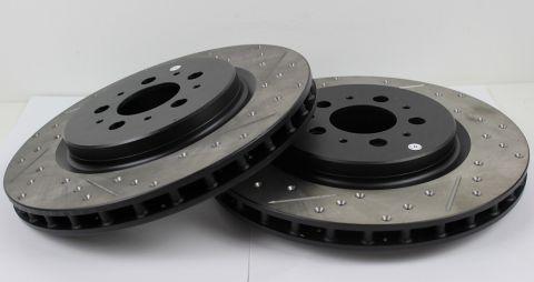 Bremseskiver bak IPD sport/bor/slissa V70R/S60R 04-07 par