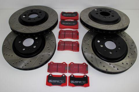 Bremsesats sport IPD Usa Volvo V70R og S60R 04-07