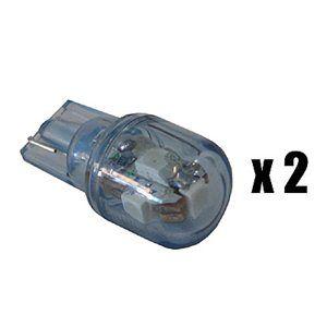 X-D LIGHT T10 SUPER BRIGHT 5LED 2-PACK BLUE