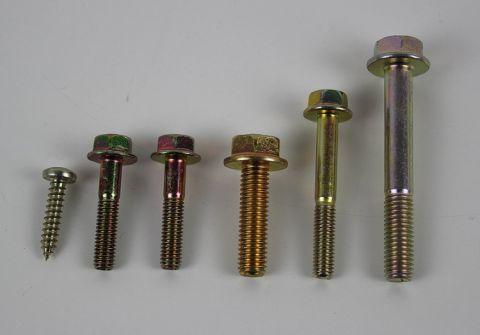 Skrue/bolt sett til registerdeksel B200/B230