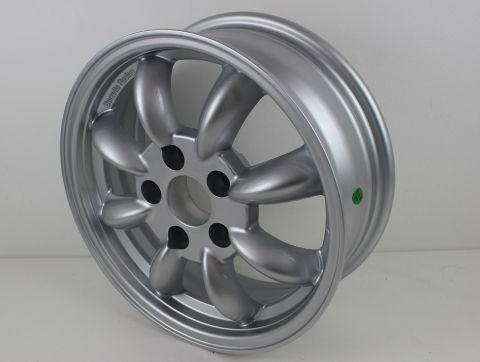Felg 5,5x15 Classic Rally Wheels sølv 5x114,3 ET18 Tilbud