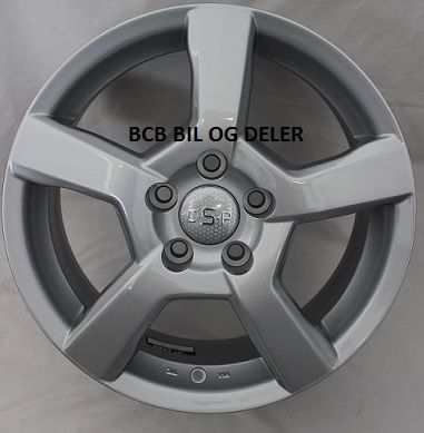 "Fälg 7X16"" Bultcirkel 5X108  ET50 NAV 63,4 Silver"