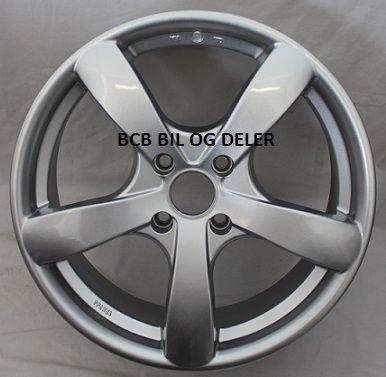 "Fälg 7X17"" Bultcirkel 4X108 ET40 NAV 73,1 Silver"