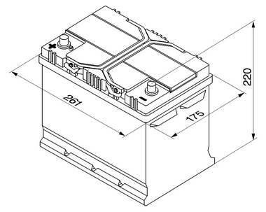 BATTERI TIL BIL BOSCH 70 AMP 12V  TILBUDSPRIS se info: