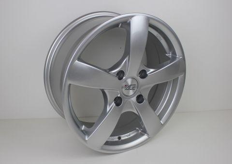 Fälg 7X16 Silver aluminiumsfälg 4X108 ET40 73,1mm