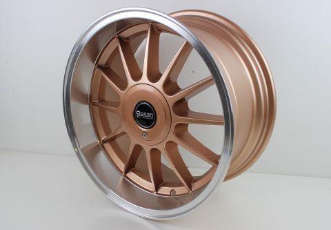 "Felg Alu. CLASSIC  Ocean 17X8,5"" ET10, 5X108 Bronze/polish"