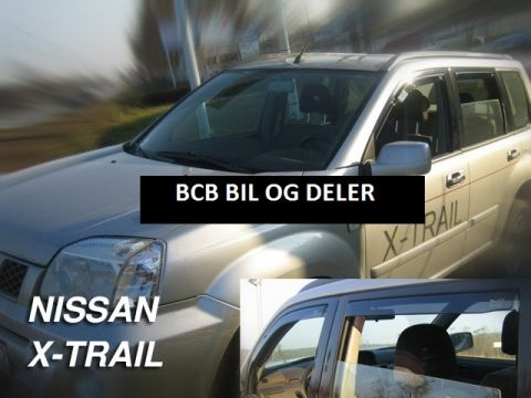 VINDAVVISERE NISSAN X-TRAIL 5d 2001>>09.2007  SETT FOR 4 DØR