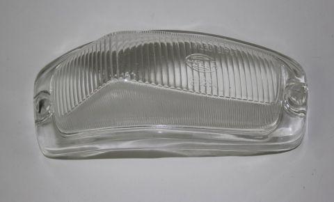 Blinklampe glass Amazom 1956-1961 høyre hvit