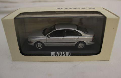 MODELBIL VOVLO S80 SØLV MOTORART/VOLVO 1:43   SISTE