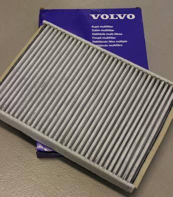FILTER KUPE/POLLEN CARBONTYPE VOLVO V700-08>,S60-10> se info