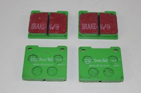 Bremsekloss sats bak Girling 140/60 240/60  EBC Greenstuff