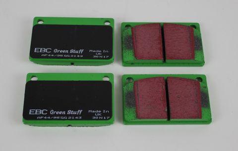 Bremsekloss Sats Foran  Girling 100/200 EBC Green Stuff