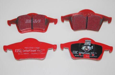 Bremsekloss sats bak S60/80 V70N XC70  EBC Redstuff