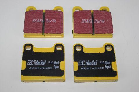 Bremsekloss Sats Bak ATE 1/2/7/9/S/V/70 EBC Yellow stuff