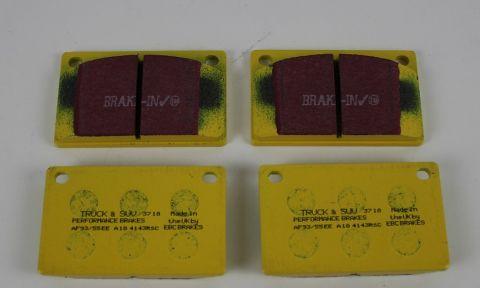 Bremsekloss Sats Foran  Girling 100/200 EBC Yellow Stuff