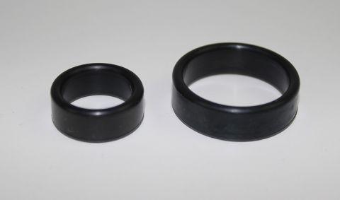 Gummiring/pakning på vannpumpe toppen 8,5mm. B18/B20