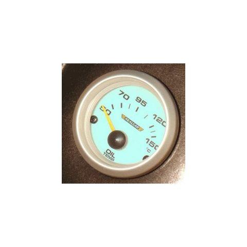 R-PERFORMANCE 52MM OILTEMP.GAUGE BLUE ELECTROLIGHT WITH SENDERKIT
