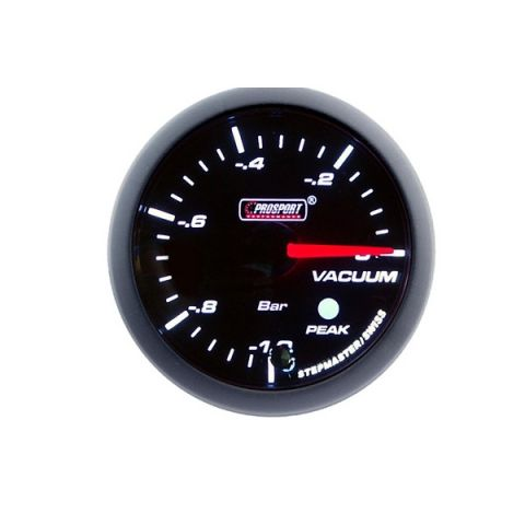 PROSPORT-S 60 MM ELECTRONIC VACUUM GAUGE WITH SENDER PEAK/WARNING