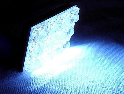 X-D LIGHT SUPERINTENSIVE INTERIOR LED LIGHT WHITE 12 LED 35X25MM