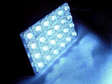 X-D LIGHT SUPERINTENSIVE INTERIOR LED LIGHT WHITE 24 LED 65X35MM