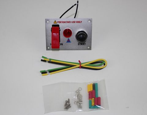 X-D LIGHT SECURITY SWITCH WITH TRANSPARENT CAP RED WITH RED LED