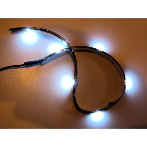 X-D LIGHT TOPVIEW LED STRIP WHITE 12V 30CM - EACH TEST WITH BATTERY