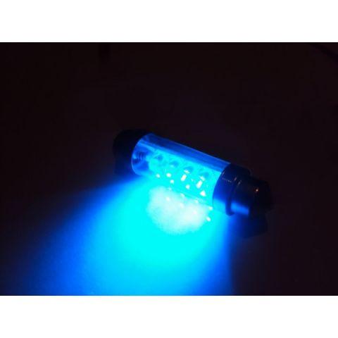 X-D LIGHT DOMELIGHT 44MM 8-LED BLUE - PAIR