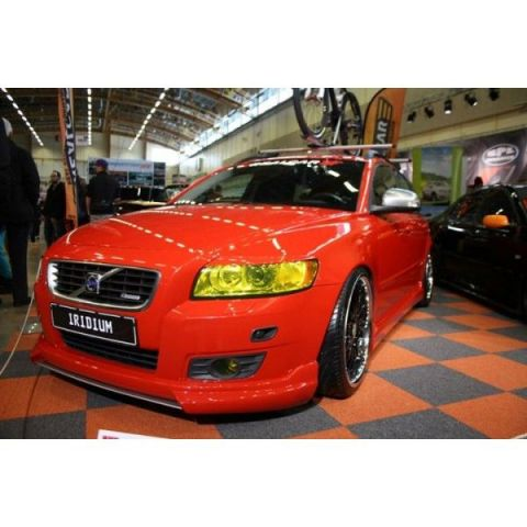 FRONTSPOILER/LEPPE VOLVO S40N/V50 2008- RADIUM FRONTSPLITTER