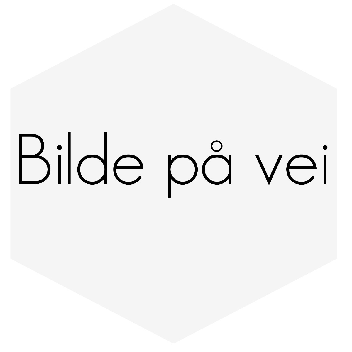 Råde/Veivstake H-profil Volvo Hvit motor std lengde 139,5mm