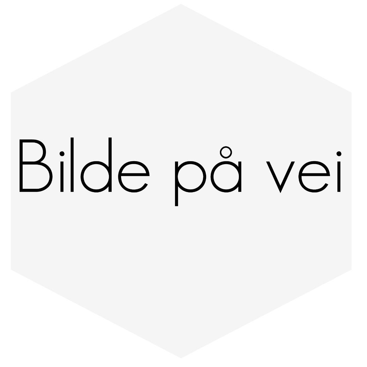 """SILIKONSLANGE RØD 180 GRADER 1,5"""" (38MM)"""